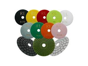 Diamond Polishing Pads, Discs & Blocks