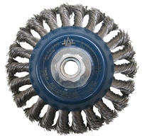 Wire Brush Wheels: Stainless Steel