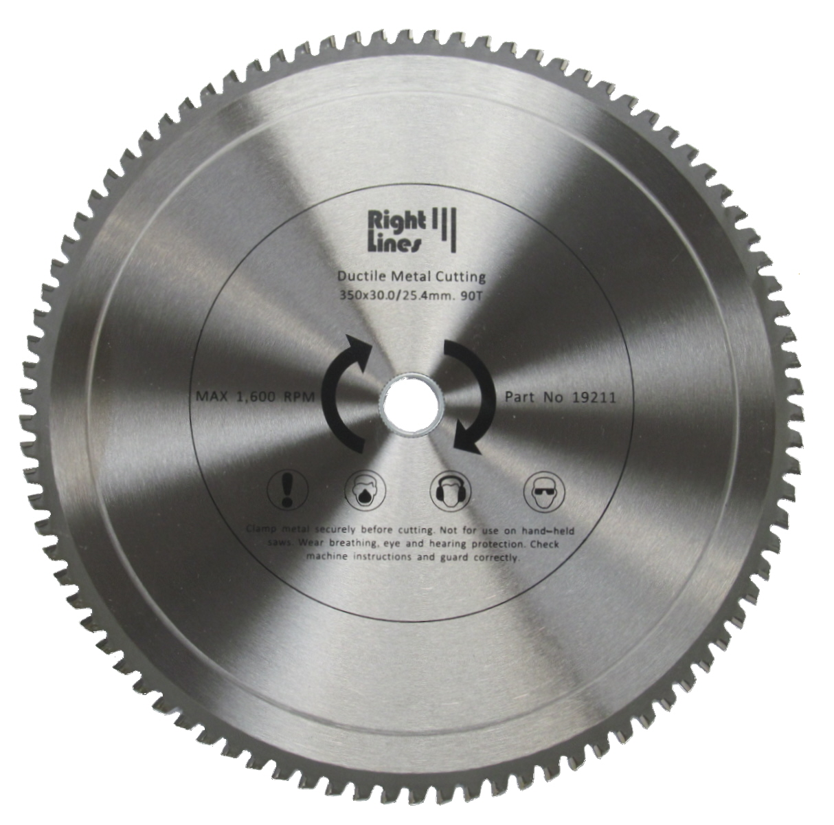 Abrasives World Metal Cutting Tct Saw Blades Right Lines