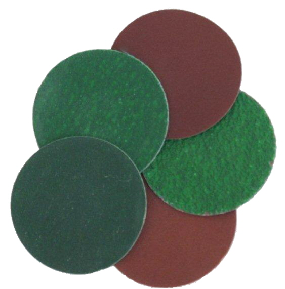 Roloc Type Quick Change Sanding Discs: 50mm (2'')