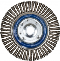 Pipeline Wire Brush Wheels - Stainless Steel