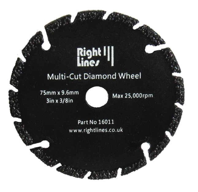 75mm Metal Slitting Diamond Wheels