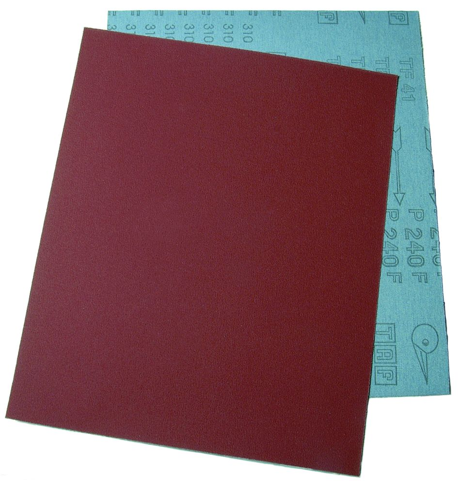 Cloth Backed Aluminium Oxide Sheets - Packs of 100