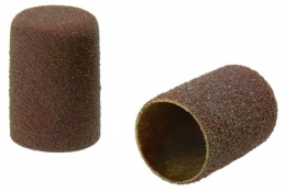 Flat End Cylinder Abrasive Caps - Packs of 100
