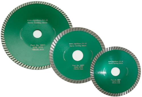 Curve Cutting Diamond Blades