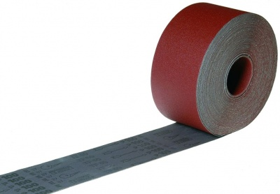 Cloth Backed Aluminium Oxide Rolls ''Emery'' Style