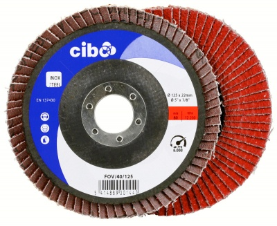 FOV Flexi-Edge Flap Discs - Pack of 10