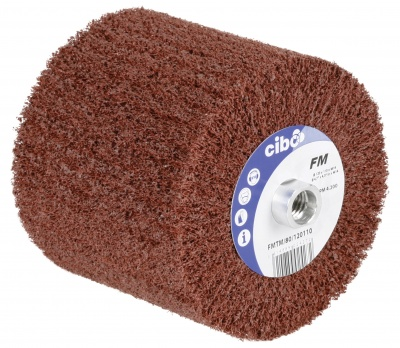 Nonwoven Abrasive Flap Brush Wheels - M14 Fixing (FMTM)
