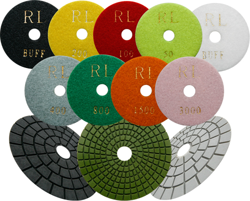 Diamond Polishing Pads - Wet Use