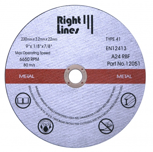 Metal Cutting Discs - Standard