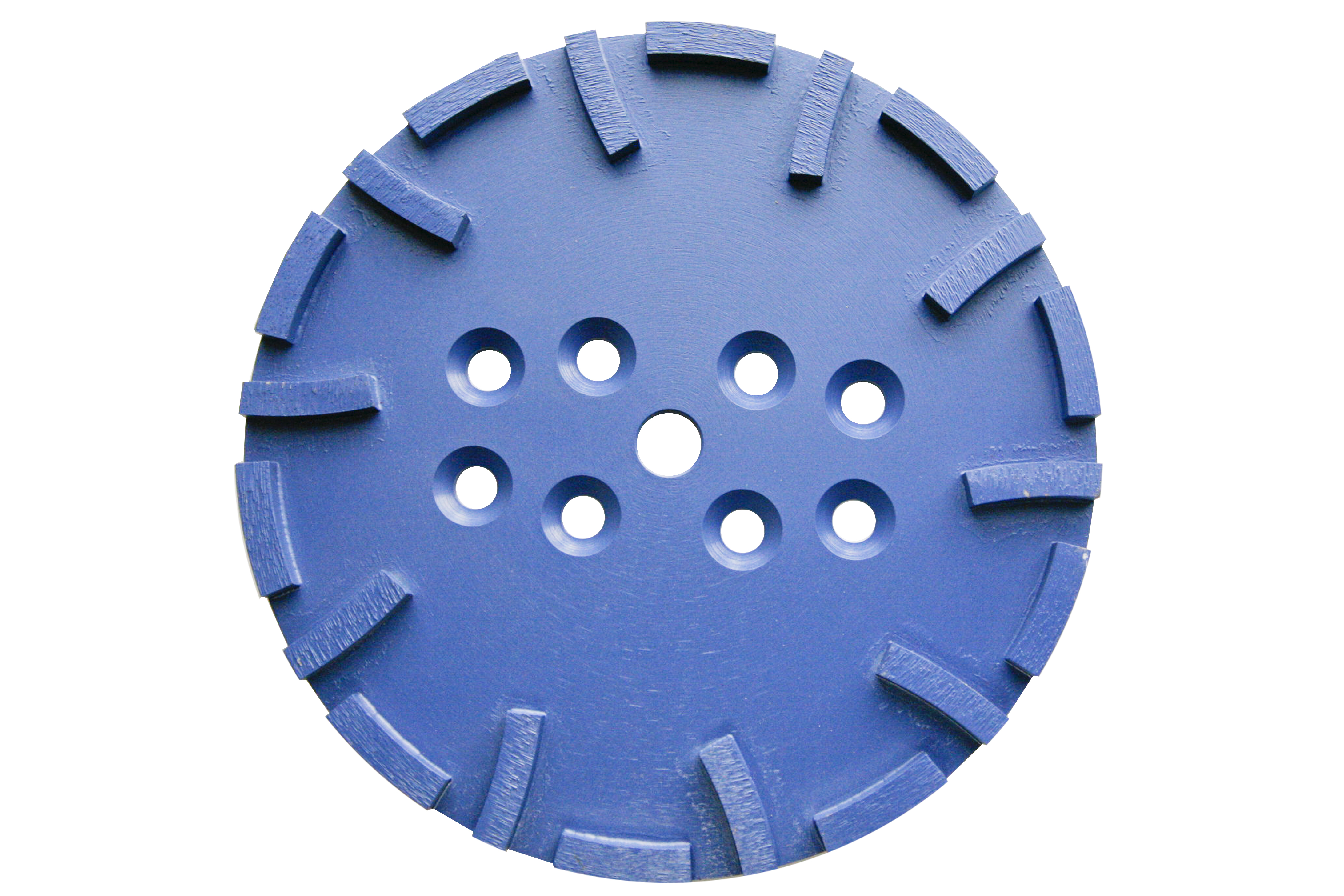 Diamond Floor Grinding Plates - 250 mm.