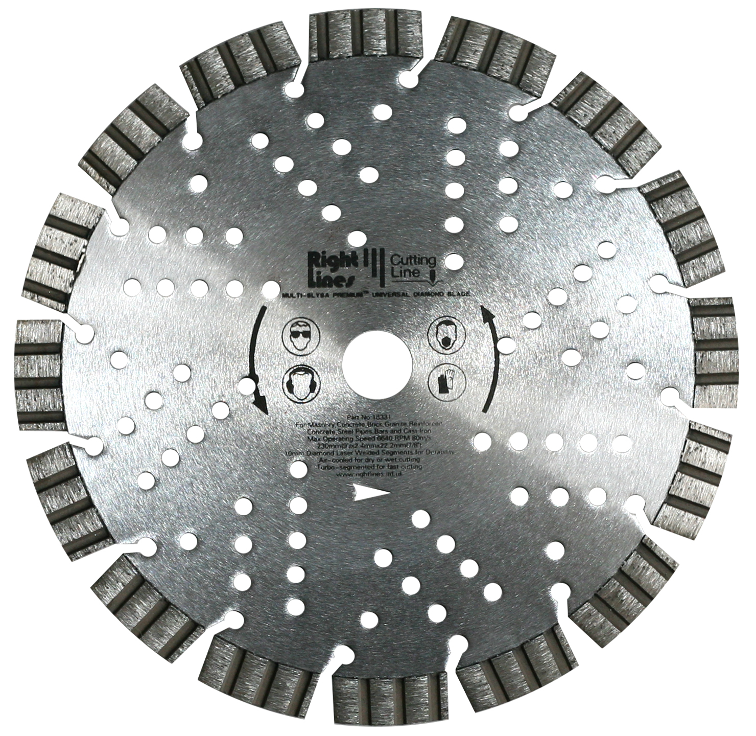 Multi Slysa Premium + Diamond Blades For Hard Materials