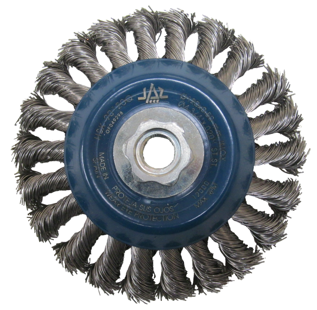 Angle Grinder Brush Wheels: Stainless Steel