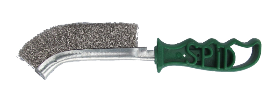 Wire Hand Spid Brush - Stainless Steel