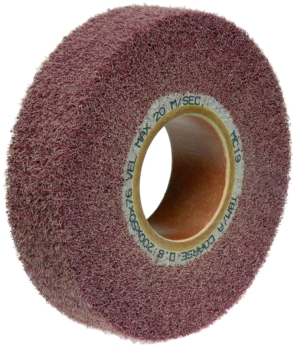 Flap Wheels For Stationary Machines - Non-woven Abrasive