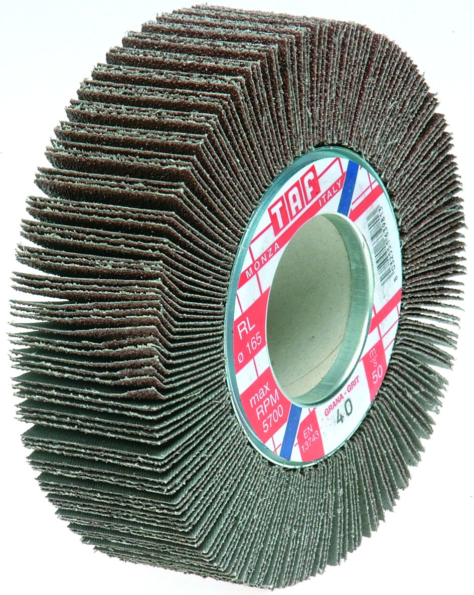 Flap Wheels For Stationary Machines - Cloth